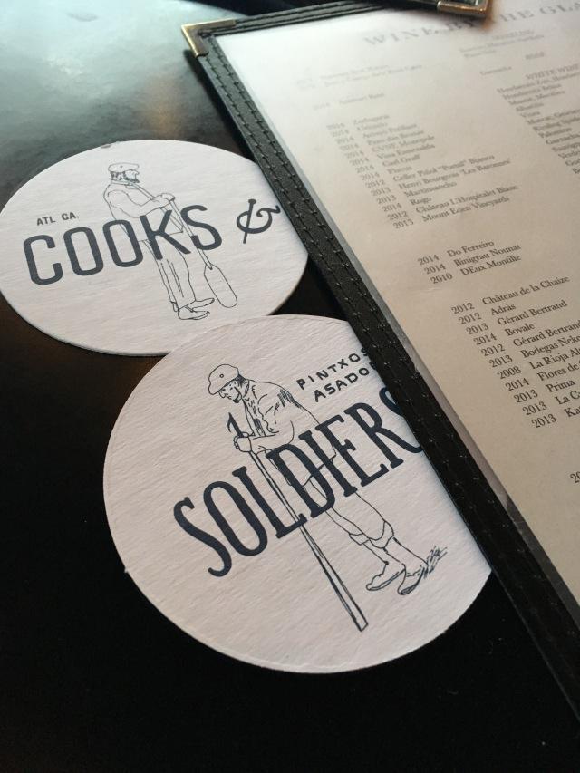 Cooks + Soldiers, Cooks & Soldiers, Gluten Free dining, Atlanta gluten free restaurants